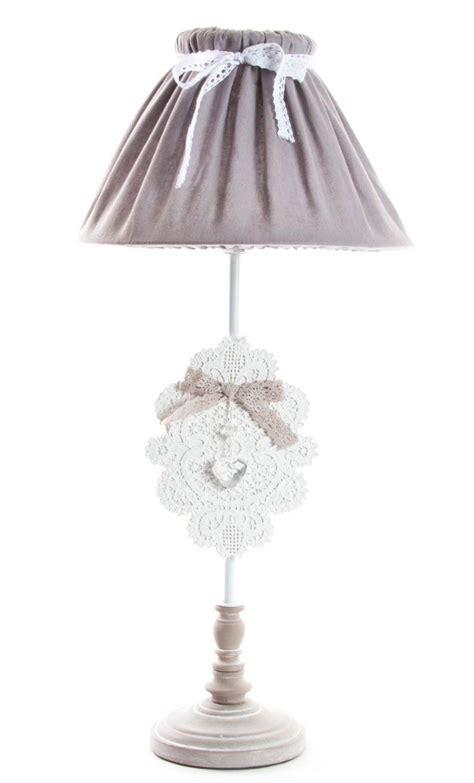 lampada da comodino romantic  shabby chic lampadari lampade
