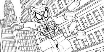 Lego marvel pc colouring pages