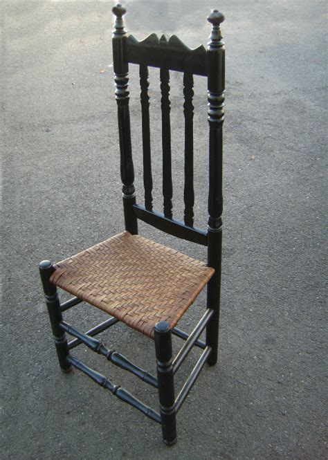 antique banister american colonial bannister back side chair c1740 for sale antiques com classifieds