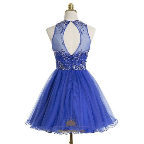 royal blue beaded dress royal blue sleeveless beaded bodice a line knee length