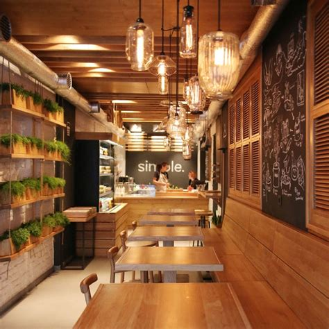 Simple Cafe Interior Design by Simple Fast Food Restaurant By Brandon Agency Kiev