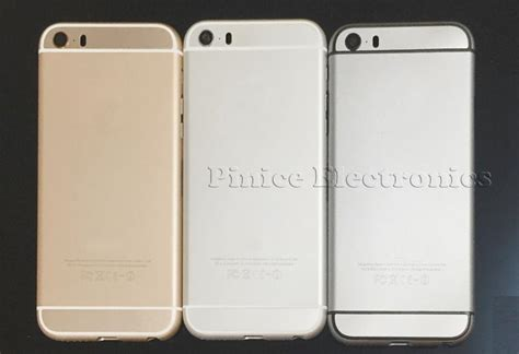 Housing Iphone 5 5s Model Iphone 6 Tombol Lonjong new for iphone 6 mini back housing metal middle frame