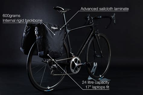 tailfin slices up new rack and pannier system made