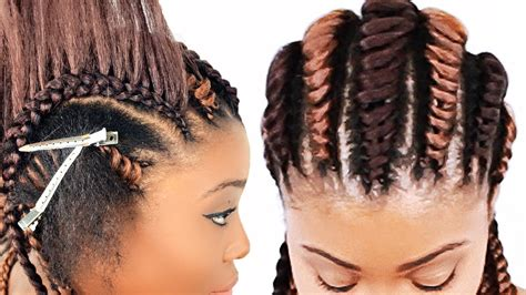 Pictures Of Tree Braids Hairstyles by Tree Braids Cornrows For Beginners