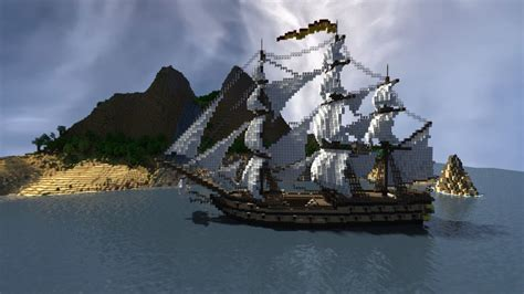 big boat minecraft map shipwrecked survival minecraft project