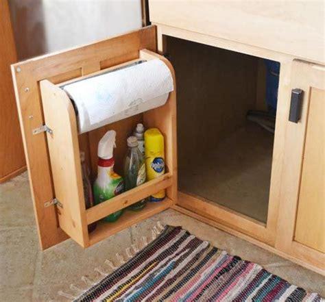 Rv Cabinet Storage Door With Paper Towel Holder And Shelf Paper Towel Holder Inside Cabinet