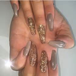 best 25 acrylic nails glitter ideas on