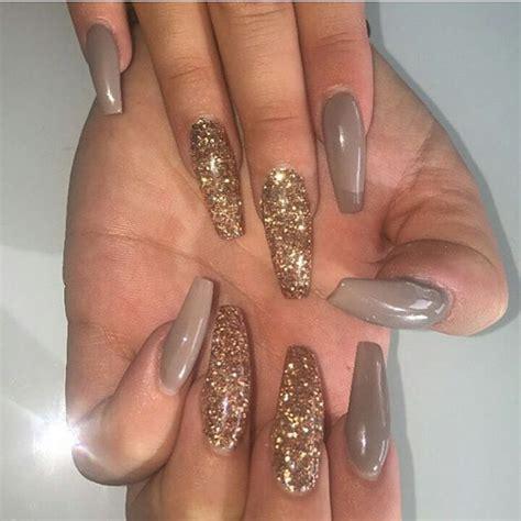 Nail Glitter Acrylic Nails best 25 acrylic nails glitter ideas on