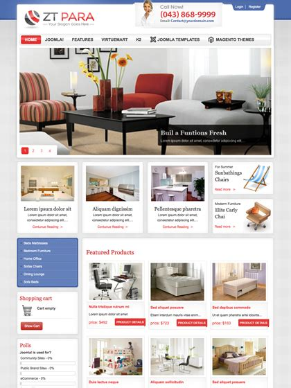 joomla template with shop shop template joomla free images