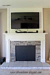 kamin imitat diy faux fireplace entertainment center part 3 bless er