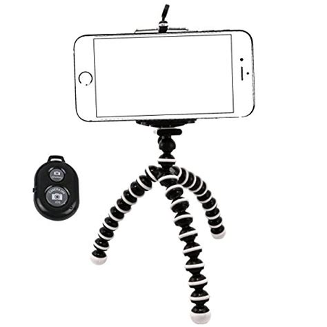 for iphone 7 plus tripod w remote phone holder mount stand universal new ebay