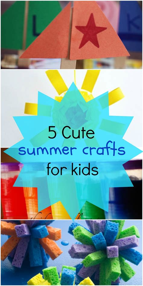 craft 1000images summer activities for kindergarten summer craft ideas for kindergarten 1000 images about