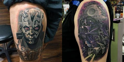starwars tattoos 16 amazing wars tattoos including one from the