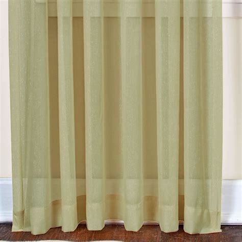 shimmering curtains mystic shimmer sheer window treatment