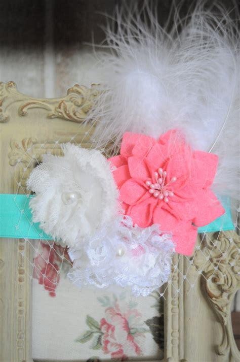 beautiful shabby chic flower headband baby headband by amy624 14 00 bows and headbands