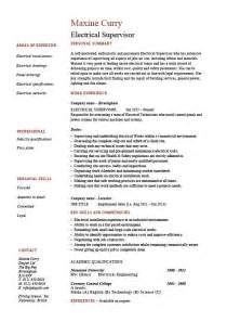 electrician resume format electrical supervisor resume sample example electrician resume electricians helper