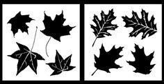 Trockeneis Aufkleber Zum Ausdrucken by Leaf Clipart Image The Silhouette Of A Oak Leaf Home