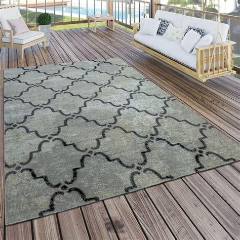 Outdoor Teppich Terrasse by In Outdoor Teppich Modern Vintage Design Terrassen