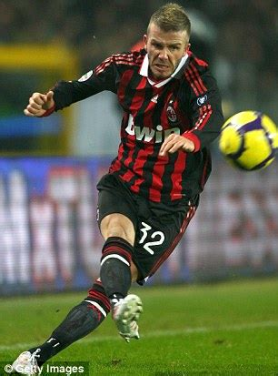 Ac Milan Teddy david beckham will be out for against manchester
