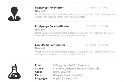 Resume Sle Indesign by Minimalist Resume Template Indesign Gratuitous Definition