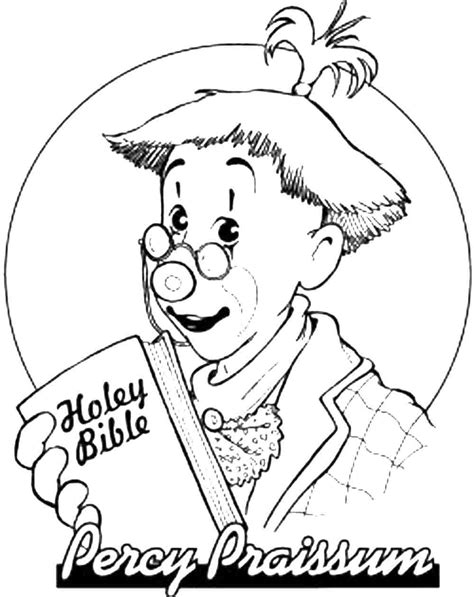 Percy Printable Coloring Pages Percy Coloring Pages