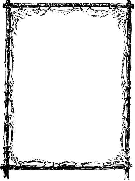 Border Clip Art Page