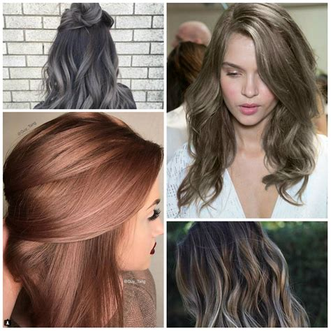 hairstyles and colors for winter 2017 hair color ideas for winter 2017 new hair color ideas