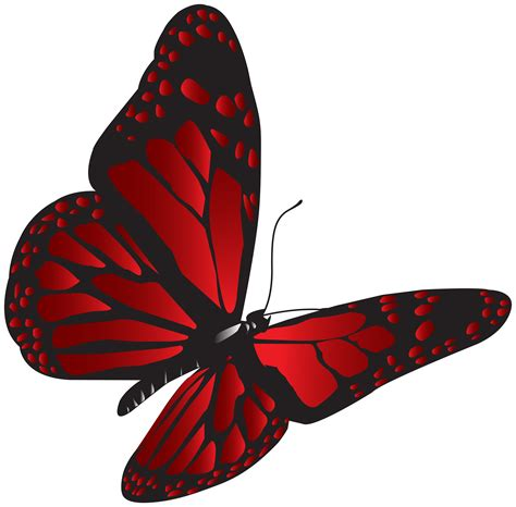 red butterfly png clip art gallery yopriceville high