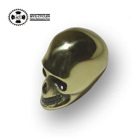 Brass Shift Knob by Skull Gear Knob Brass Manual Shifter Knob Harley Davidson