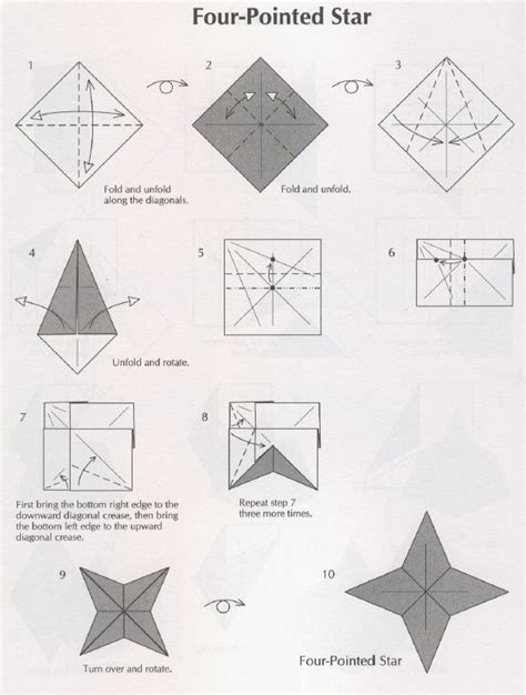 Four Pointed Origami - four pointed compassion int l