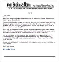 Business Email Template by Selling Business Email Templates Pdf