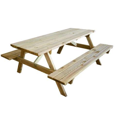 tavolo pic nic tavolo pic nic con panche in legno cm 180x120