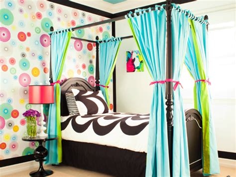 funky bedrooms funky modern colorful girl s bedroom