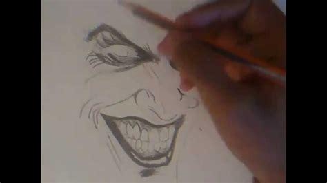 imagenes del guason para dibujar faciles como dibujar a el guason rapido youtube