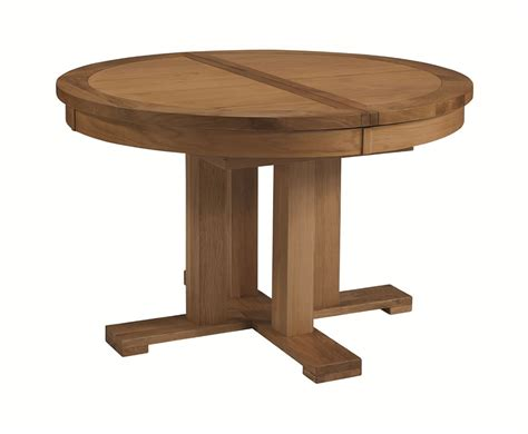Extending Circular Dining Table Miller Oak Extending Dining Table