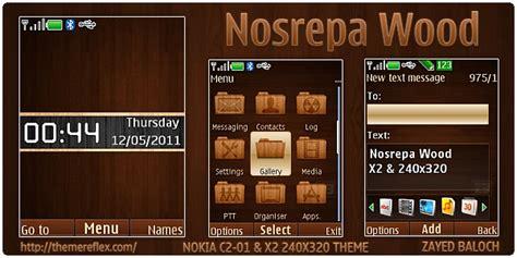 nokia x2 apple themes nosrepa wood theme for nokia x2 240 215 320 themereflex