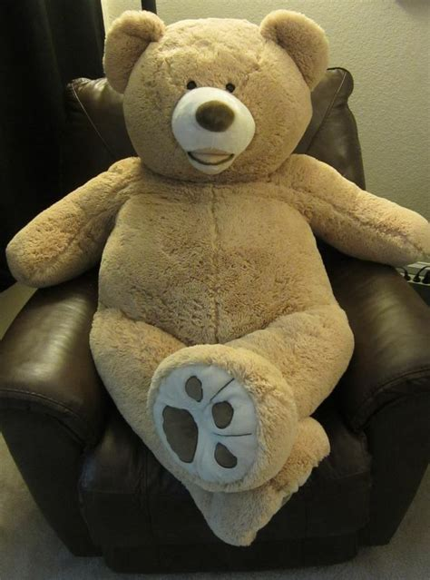 giant teddy bear bed 82 best giant stuffed animals images on pinterest