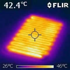 alfombra electrica calefactora alfombra electrica calefactora 40 215 60 cm 75 w alfombra