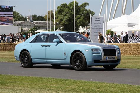 roll royce sky sky blue rolls royce goodwood festival of speed 2013
