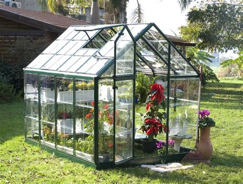 Snap & Grow? Green Greenhouse   6 x 8   HG6008G