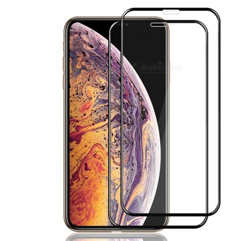 full screen tempered glass protector film  iphone xs