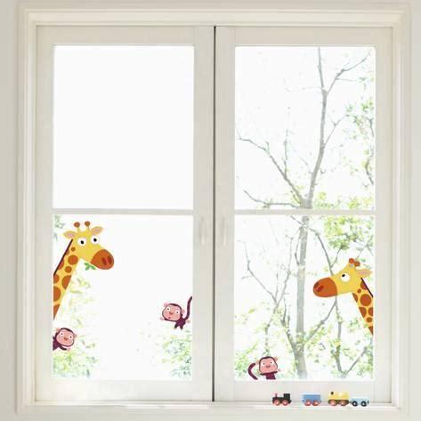 vinilos translucidos para ventanas leroy merlin vinilo adhesivo para ventanas jirafas y monos vinilo para