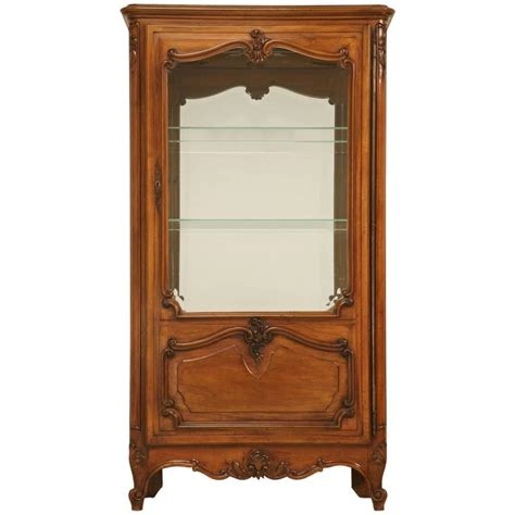 French Curio Cabinet For Sale French Louis Xv Style Curio Cabinet For Sale At 1stdibs