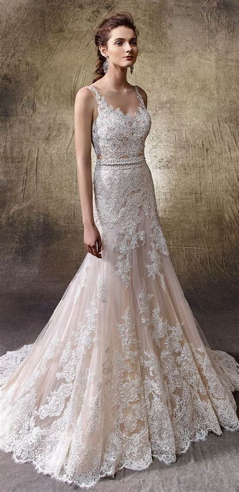 Effortless Elegance in Enzoani 2017 Wedding Dresses