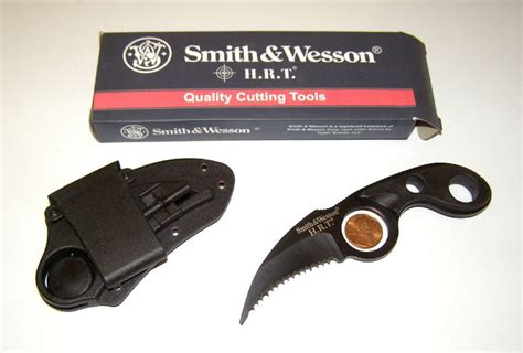 smith and wesson knives hrt smith wesson hrt claw knife boot neck knife fixed blade