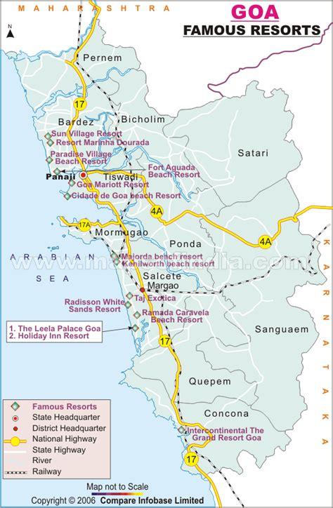 resort goa map goa resorts resorts in goa