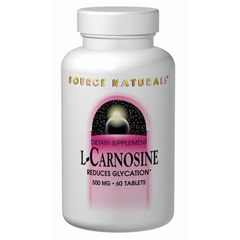 Special Edition Carnosine 500mg 90 Capsule l carnosine 500mg 60 tabs from source naturals day of health 102 s