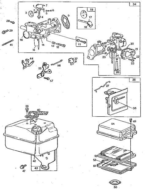 briggs and stratton 3 5 hp carburetor diagram i a lowes tiller with a briggs and stratton 5hp