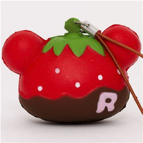 Rilakkuma Kawaii Super Cute and soft Strawberry brown Squishies   RilakkumaShop