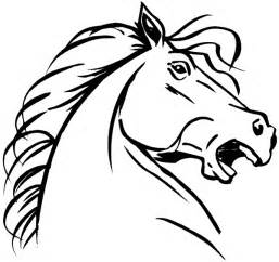 Horse Head Pro Drawing Angry In sketch template